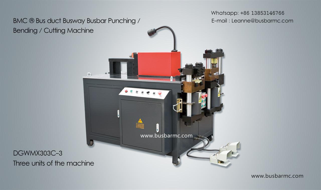 303C-3 Copper Busbar Bending Cutting bus bar shear machine