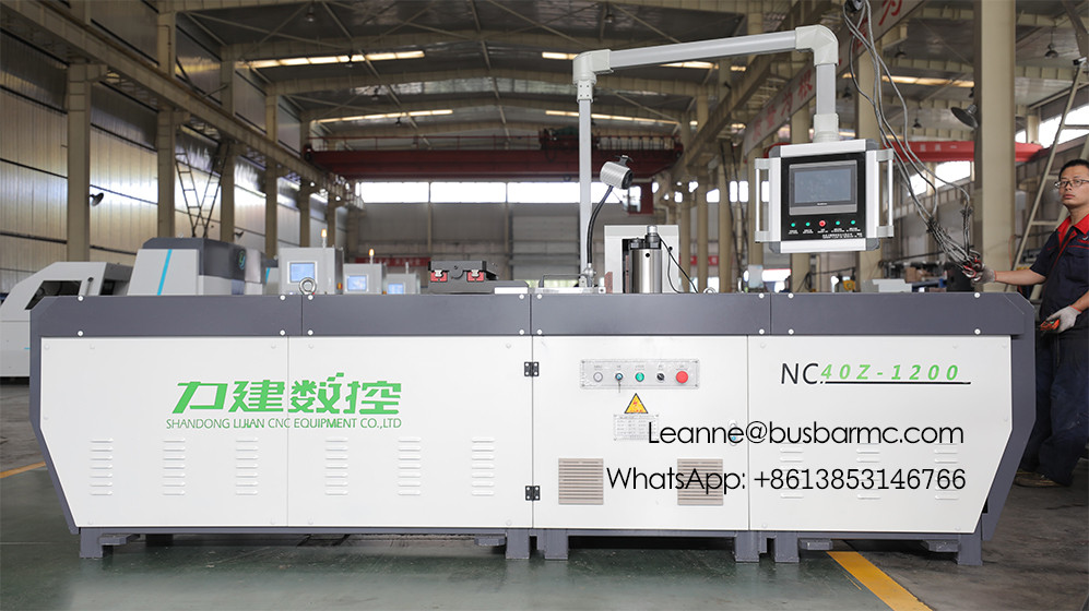 NC.40Z-1200 CNC Copper busbar copper bending tool